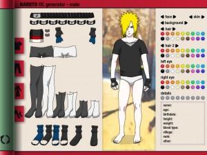 Игры Создатель персонажей Наруто