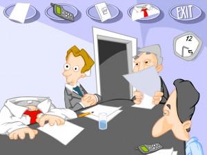 Скучное офисное совещание