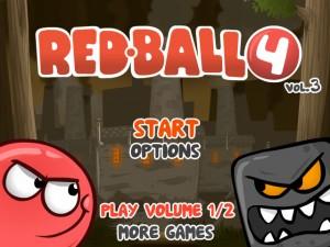 Онлайн игра Красный шар 4 часть 3 (Red ball 4 vol.3) (изображение №1)
