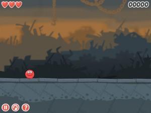 Онлайн игра Красный шар 4 часть 3 (Red ball 4 vol.3) (изображение №2)