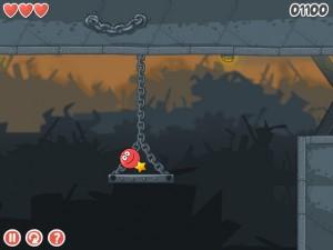 Онлайн игра Красный шар 4 часть 3 (Red ball 4 vol.3) (изображение №4)