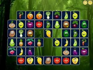 Онлайн игра Найди пары для овощей (Connect puzzles) (изображение №3)