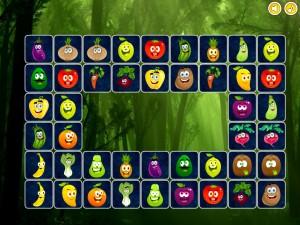 Онлайн игра Найди пары для овощей (Connect puzzles) (изображение №4)