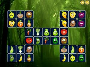 Онлайн игра Найди пары для овощей (Connect puzzles) (изображение №5)