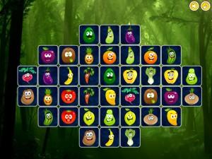 Онлайн игра Найди пары для овощей (Connect puzzles) (изображение №7)