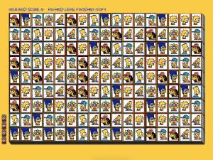 Онлайн игра Мозаика Симпсонов (Tiles of the Simpsons) (изображение №2)