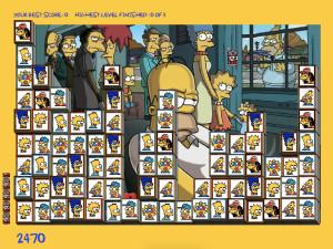 Онлайн игра Мозаика Симпсонов (Tiles of the Simpsons) (изображение №3)