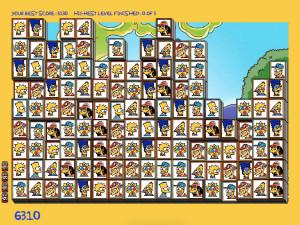 Онлайн игра Мозаика Симпсонов (Tiles of the Simpsons) (изображение №4)