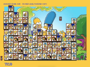 Онлайн игра Мозаика Симпсонов (Tiles of the Simpsons) (изображение №5)