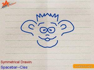 Онлайн игра Симметричное рисование (Simmetrical drawing) (изображение №2)