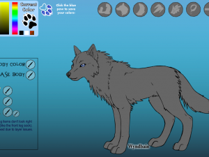 Создай уникального волка