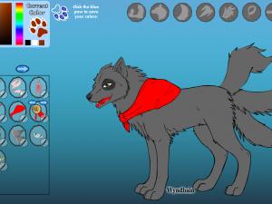 Онлайн игра Создай уникального волка (Wolf maker) (изображение №3)