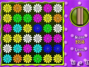 Игра Активная цветочная мозаика