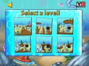 Онлайн игра Спанч Боб и друзья гонки на велосипедах (Sponge Bob cycle race) (изображение №3)
