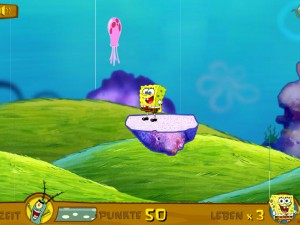 Онлайн игра Коварный план Планктона (Planctons perfecder plan) (изображение №5)