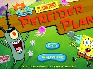 Онлайн игра Коварный план Планктона (Planctons perfecder plan) (изображение №6)