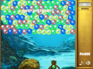 Онлайн игра Взрыв пузырей (Bubble collapse) (изображение №3)