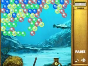 Онлайн игра Взрыв пузырей (Bubble collapse) (изображение №4)