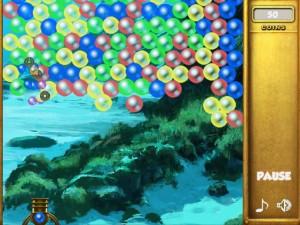 Онлайн игра Взрыв пузырей (Bubble collapse) (изображение №5)