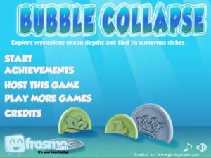 Онлайн игра Взрыв пузырей (Bubble collapse) (изображение №6)