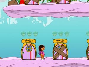 Онлайн игра Даша в клубничном мире (Dora strawberry world) (изображение №4)