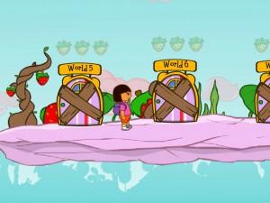 Онлайн игра Даша в клубничном мире (Dora strawberry world) (изображение №6)