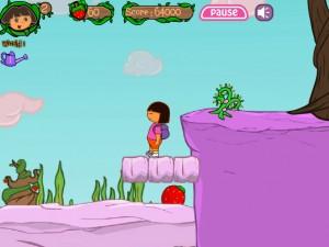 Онлайн игра Даша в клубничном мире (Dora strawberry world) (изображение №7)