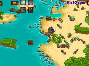 Онлайн игра Битва викингов: Защита золота  (Viking Warfare) (изображение №3)