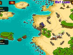 Онлайн игра Битва викингов: Защита золота  (Viking Warfare) (изображение №4)
