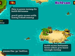 Онлайн игра Битва викингов: Защита золота  (Viking Warfare) (изображение №5)