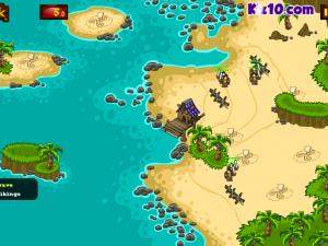 Онлайн игра Битва викингов: Защита золота  (Viking Warfare) (изображение №6)