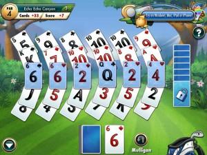 Онлайн Игра Фарватер Пасьянс (Fairway Solitaire) (изображение №1)