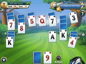 Онлайн Игра Фарватер Пасьянс (Fairway Solitaire) (изображение №3)