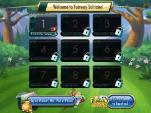 Онлайн Игра Фарватер Пасьянс (Fairway Solitaire) (изображение №4)