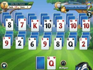 Онлайн Игра Фарватер Пасьянс (Fairway Solitaire) (изображение №6)