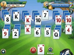 Онлайн Игра Фарватер Пасьянс (Fairway Solitaire) (изображение №7)