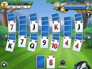 Онлайн Игра Фарватер Пасьянс (Fairway Solitaire) (изображение №8)