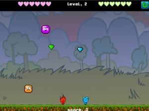 Онлайн игра Мальчик-огонь и девочка-вода против инопланетянина (Fireboy Water Girl VS Alien) (изображение №5)