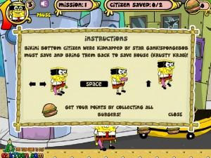 Онлайн игра Спанч Боб в маске (Sponge bob m-mask) (изображение №4)