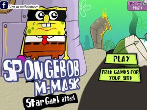 Онлайн игра Спанч Боб в маске (Sponge bob m-mask) (изображение №6)