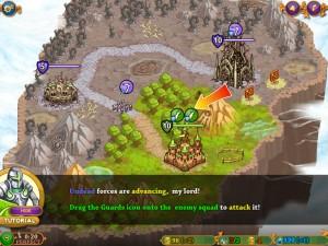 Онлайн игра Защита средневекового королевства (Takeover) (изображение №10)