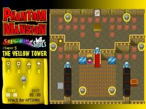 Онлайн игра Замок с привидениями 3 (Phantom Mansion Chpater 3 The Yellow Tower) (изображение №3)