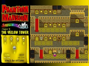 Онлайн игра Замок с привидениями 3 (Phantom Mansion Chpater 3 The Yellow Tower) (изображение №9)