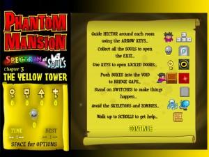 Онлайн игра Замок с привидениями 3 (Phantom Mansion Chpater 3 The Yellow Tower) (изображение №2)