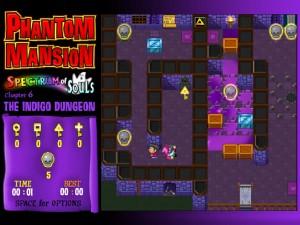 Онлайн игра Замок с привидениями 6 (Phantom Mansion Chapter 6 The Indigo Dungeon) (изображение №3)