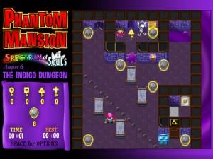Онлайн игра Замок с привидениями 6 (Phantom Mansion Chapter 6 The Indigo Dungeon) (изображение №4)