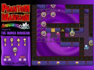 Онлайн игра Замок с привидениями 6 (Phantom Mansion Chapter 6 The Indigo Dungeon) (изображение №5)