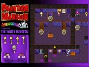 Онлайн игра Замок с привидениями 6 (Phantom Mansion Chapter 6 The Indigo Dungeon) (изображение №6)