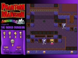 Онлайн игра Замок с привидениями 6 (Phantom Mansion Chapter 6 The Indigo Dungeon) (изображение №7)