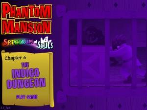 Онлайн игра Замок с привидениями 6 (Phantom Mansion Chapter 6 The Indigo Dungeon) (изображение №1)